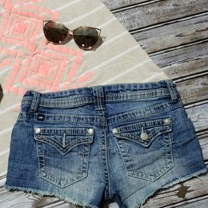 Almost Famous Shorts - Distressed Denim Shorts Sz.3 Almost Famous
